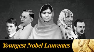 The Nobel Prize is awarded for the outstanding contributions for mankind in Physics, Chemistry, Literature, Peace, Physiology or Medicine.Presenting you the list of Top 10 Youngest Nobel Laureates...............................................................Click to Subscribe - http://goo.gl/47SV9mShare on Facebook - http://goo.gl/84AIXdShare on Twitter - http://goo.gl/DykfcSGoogle Plus - http://goo.gl/FpNlYL..............................................................Follow us on Twitter - www.twitter.com/toptenamazingLike us on Facebook - www.facebook.com/thetoptenamazing..............................................................Following are the list:#10Tawakkol Karman, Age 32Born: 7 February 1979, Ta'izz, YemenField: women's rights#9Mairead Corrigan, Age 32Born: 27 January 1944, Belfast, Northern IrelandField: peace movement#8Frederick G. Banting, Age 32Born: 14 November 1891, Alliston, CanadaField: particle physics#7Rudolf Mössbauer, Age 32Born: 31 January 1929, Munich, GermanyField: nuclear physics#6Tsung-Dao Lee, Age 31Born: 24 November 1926, Shanghai, ChinaField: particle physics#5Carl D. Anderson, Age 31Born: 3 September 1905, New York, USAField: particle physics#4Paul A.M. Dirac, Age 31Born: 8 August 1902, Bristol, United KingdomField: quantum mechanics#3Werner Heisenberg, Age 31Born: 5 December 1901, Würzburg, GermanyField: quantum mechanics#2Lawrence Bragg, Age 25Born: 31 March 1890, Adelaide, AustraliaField: crystallography, x-rays#1Malala Yousafzai, Age 17Born: 12 July 1997, Mingora, PakistanField: right to education..............................................................Music:01Title: EdenContributing Artist: ALBISAlbum: YouTube Audio Library02Title: Keep The PaceContributing Artist: Gunnar OlsenAlbum: YouTube Audio Library03Title: Official National AnthemContributing Artist: Jingle PunksAlbum: YouTube Audio LibraryGraphic Images: commons.wikimedia.orgwww.flickr.com/creativecommonswww.pixabay.comCredits/Attributions:http://en.wikipedia.org/wiki/File:Bundesarchiv_Bild183-R57262,_Werner_Heisenberg.jpgAttribution: Bundesarchiv, Bild183-R57262 / CC-BY-SAhttp://en.wikipedia.org/wiki/File:Carl_Anderson.jpgSource:http://nobelprize.org/nobel_prizes/physics/laureates/1936/anderson-bio.htmlhttp://www.nobelprize.org/nobel_prizes/peace/laureates/1976/corrigan_postcard.jpghttps://digital.library.adelaide.edu.au/dspace/bitstream/2440/74272/1/WL%20Bragg%20at%20AU%20542.jpgAttribution: From the Bragg research papers compiled by John Jenkin MSS 0144. Source: Royal Institution.https://commons.wikimedia.org/wiki/File:Msc2012_20120205_064_T_Kamak_during_the_panel_Frank_Plitt.jpgAttribution: Frank Plitthttp://www.flickr.com/photos/salforduniversity/15217346530http://www.flickr.com/photos/greecemfa/15331732395http://www.nobelprize.org/nobel_prizes/lists/age.html