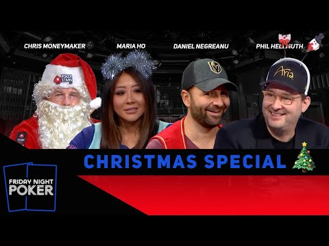 Friday Night Poker Christmas Special with Moneymaker, Negreanu, Hellmuth and Maria Ho