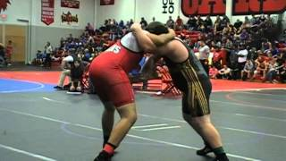 Matt Pecka Washington vs Bartlett Fort Osage 285 lbs