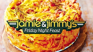 Friday Night Feast | Carbonara Cake | 8pm. Channel 4. Friday. UK by Jamie Oliver