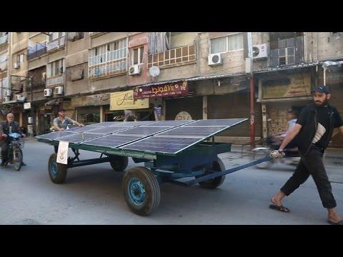 العرب اليوم - شاهد : تغذية مدينة دوما السورية بالمياه