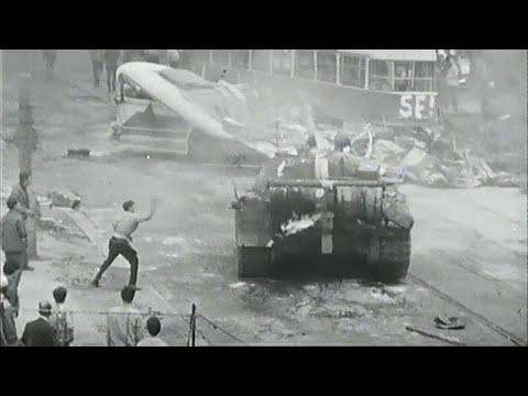 Διαδήλωση κατά της σοβιετικής εισβολής στην Τσεχοσλοβακία…