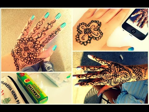 How To Do Henna + Tips | mcabeautorials