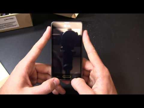LG Optimus F3 Unboxing