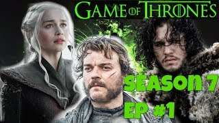 Game of Thrones Season 7 Ep #1 'Dragonstone' Season 7 begins with an update on what every character is doing and where they are in the chess board going forw...