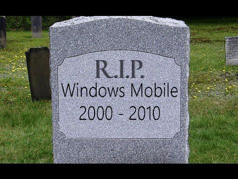 Кладбище Microsoft. Windows Mobile