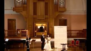 Свадебная церемония в Органном зале филармонии