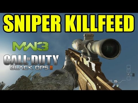 Duty - AMAZING SNIPER KILLFEED ON CALL OF DUTY. ▻ Freestyle Replay Apparel : http://electronicgamersleague.com/collections/freestyle-replay ---------------------------- PLAYERS AND INFOS -------------...