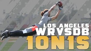 Nike Football's The Opening Los Angeles 2016 | WR vs DB 1 on 1's