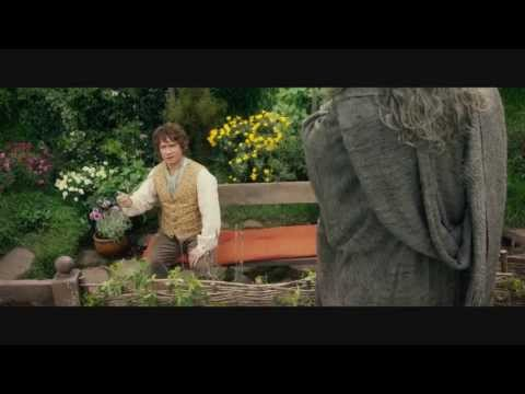 The Hobbit An Unexpected Journey - Bilbo meets Gandalf