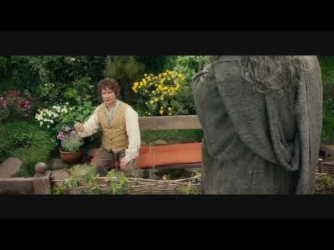 Bilbo - The Hobbit An Unexpected Journey - Bilbo meets Gandalf, enjoy, comment and SUBSCRIBE plz plz guyz.