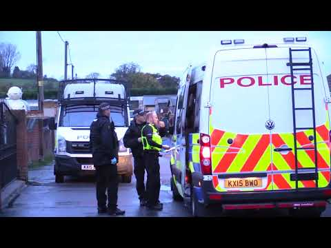 Police target travellers sites in major operation to tackle modern slavery