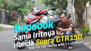 Video VLOG : Kapok sama Iritnya Konsumsi BBM Honda Supra GTR 150 . . . 70KPL MP3, 3GP, MP4, WEBM, AVI, FLV Agustus 2017