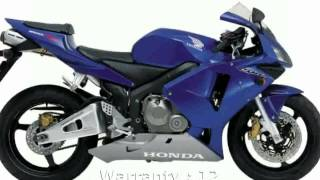 5. 2005 Honda CBR 600RR Specification & Info