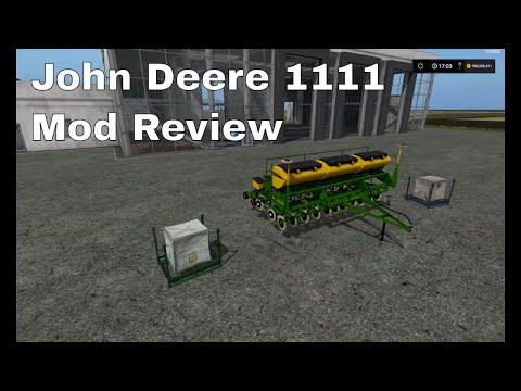 Planter John Deere 1111 v1.0