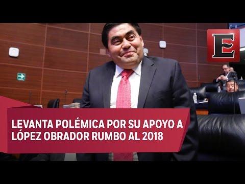 Miguel Barbosa descarta dejar coordinación del PRD en el Senado