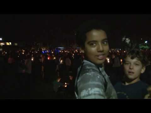 Vigil for slain Davis Police Officer Natalie Corona