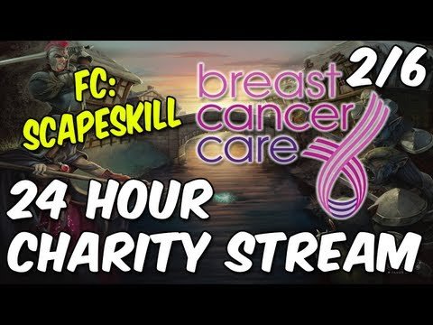 ScapeSkill's 24 Hour Charity Livestream – Breast Cancer Care UK – Part 2/6