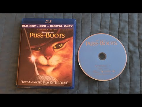 Opening to Puss in Boots 2012 Blu Ray