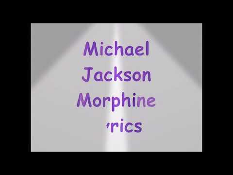 Michael Jackson Morphine Lyrics