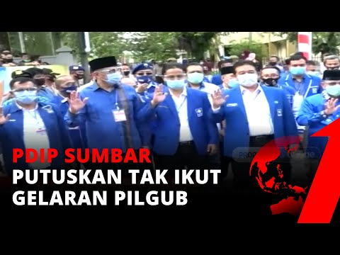 PDIP Tak Ikut Pilgub Sumbar, Gegara Cuitan Puan Soal Pancasila di Sumbar?   tvOne