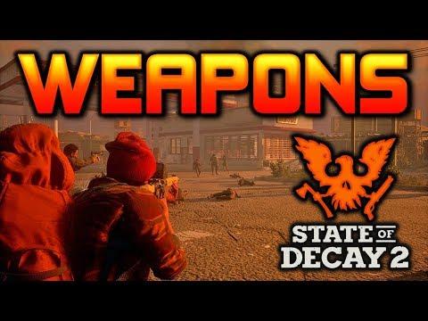 Weapon Customization, Crafting, & Modding   State of Decay 2 (видео)