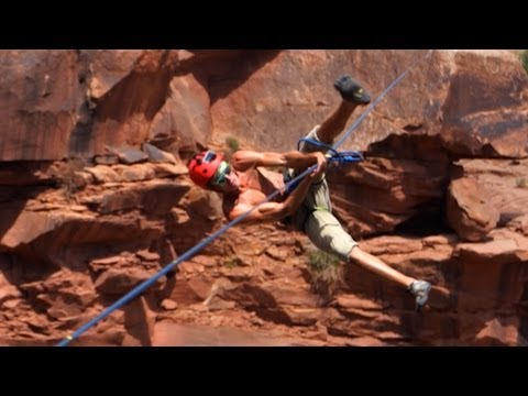 Extreme Highlining Insane Heights