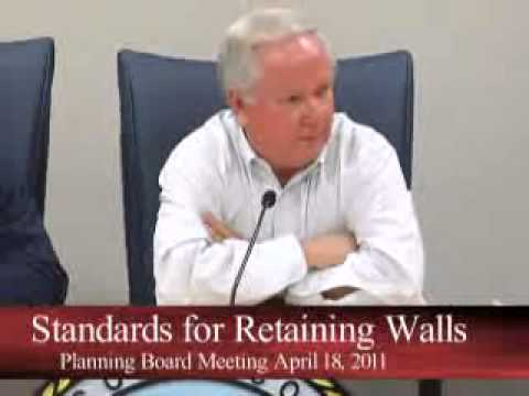 Planning Board Meeting - 04/18/2011