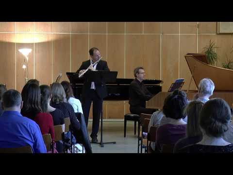 Jean Marie Leclair   Sonata G-Major for Flute and Cembalo