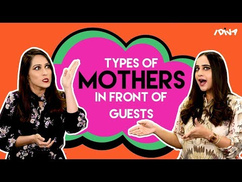 Video iDIVA - Types Of Indian Mothers In Front Of Guests | Every Indian Mom Ever download in MP3, 3GP, MP4, WEBM, AVI, FLV January 2017