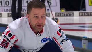 Four score as Brad Gushue beats Glenn Howard image