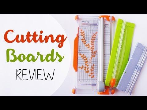 Recensione: Taglierine a scorrimento - Review: cutting boards
