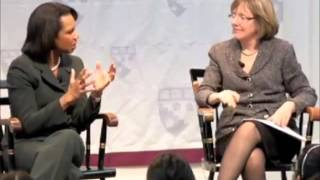 Harvard Lecture - Condoleezza Rice On Barack Obama