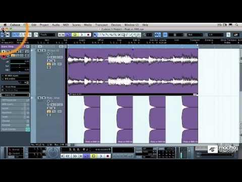 Cubase 5 401: Mastering in Cubase – 04 Peak Volume vs Average RMS Volume