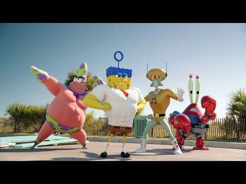 spongebob - fuori dall'acqua: il trailer italiano