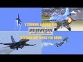 """F16 MLU BELGIAN AIR FORCE DEMO - Pilot: Cmdt Michel """"Mitch"""" Buelen (airshowvision)"""