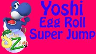Yoshi's Egg Roll Super Jump – Super Smash Bros WiiU