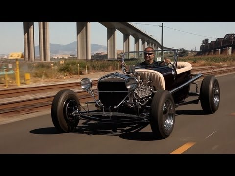 0 Driving Shotgun: Cruising in a Cozy Ford Model T Hot Rod [Video]