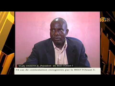 34 cas de contestation enregistrés, selon le président du BED-I