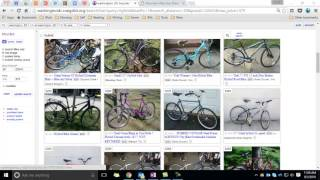 Instructions and general advice for finding a bike on craigslist.
