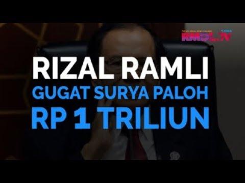 Rizal Ramli Gugat Surya Paloh Rp 1 Triliun