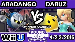 Pound 2016 – Abadango (Metaknight) Vs. Dabuz (Rosalina)
