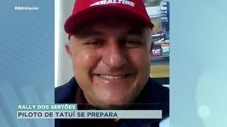 Morador de Tatuí se prepara para competição dos Rally do Sertões