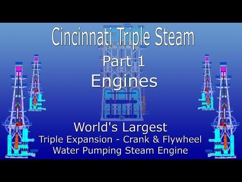 World's Largest Triple Expansion Steam Engine Part 1