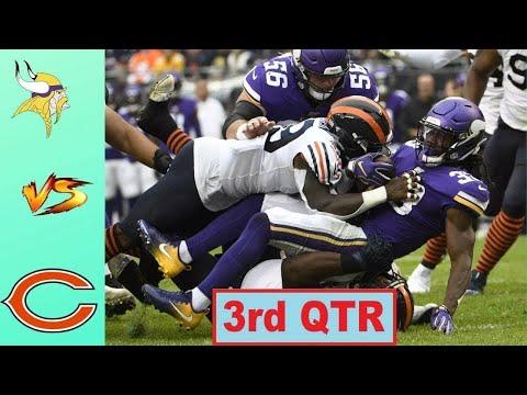 Chicago Bears vs Minnesota Vikings Highlights 3rd QTR   Week 10   NFL 2020