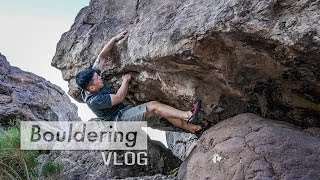 Trying to send a V4 by Bouldering Vlog