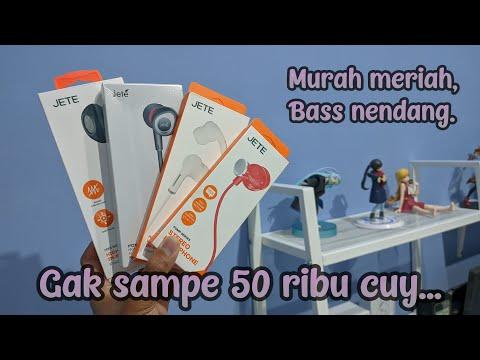 Nyobain + Ngocehin Headset Murah dibawah 50 ribu dari JETE Indonesia   Kere Hore is Lyfe ✨