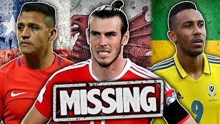 Video 10 Players Who Will Miss The World Cup 2018! MP3, 3GP, MP4, WEBM, AVI, FLV Februari 2018