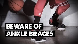 Beware of ankle braces! Why? Ankle braces weaken your feet and make your ankles less mobile, which in turn, limits your ability...