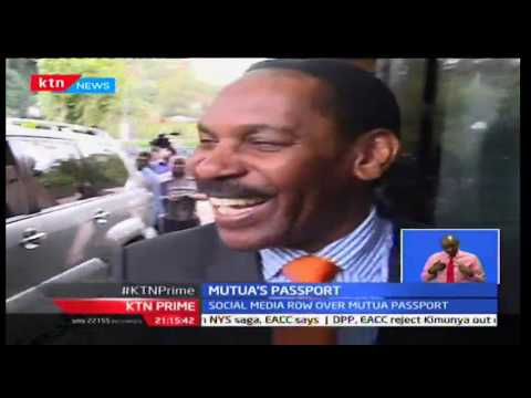 KTN Prime: Film board boss Ezekiel Mutua's diplomatic passport has been revoked, 29/09/2016